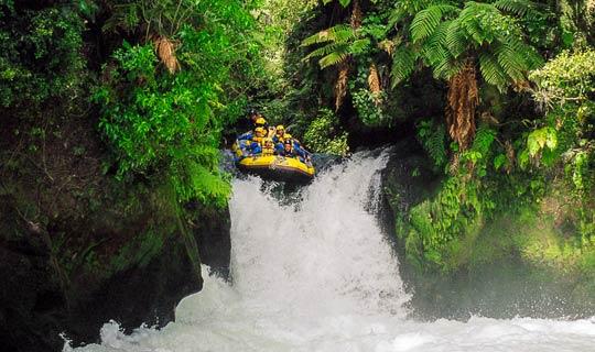 Rafting Kaituna River