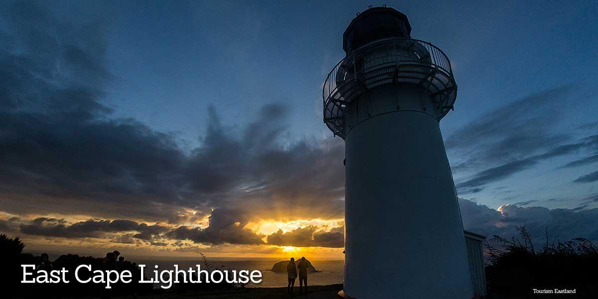 Lighthouse East Cape Eastland