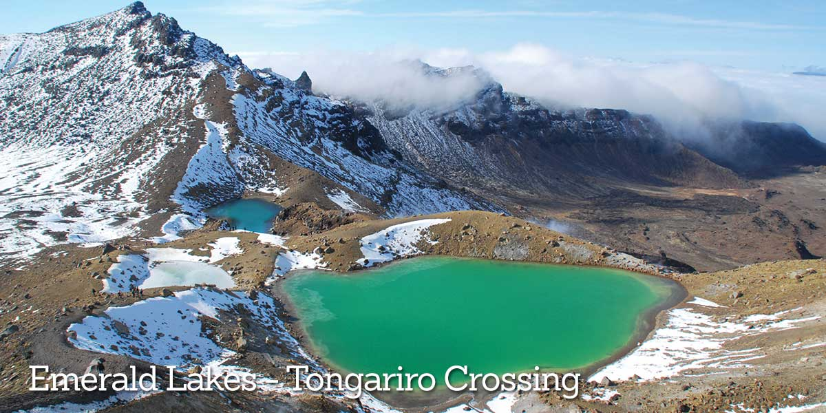 Tongariro Crossing Emerald Lakes
