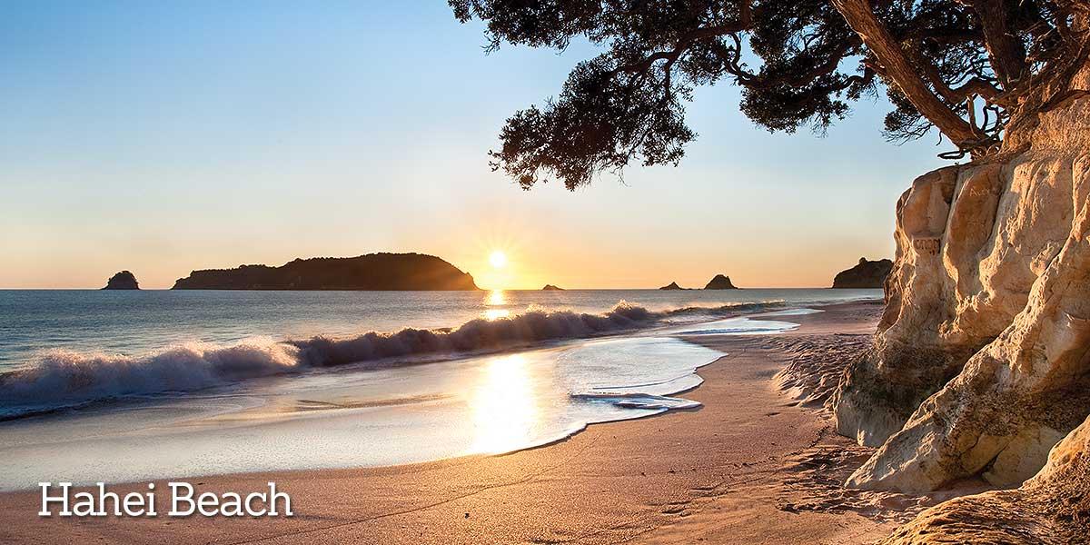 Sunset Coromandel Hahei Beach