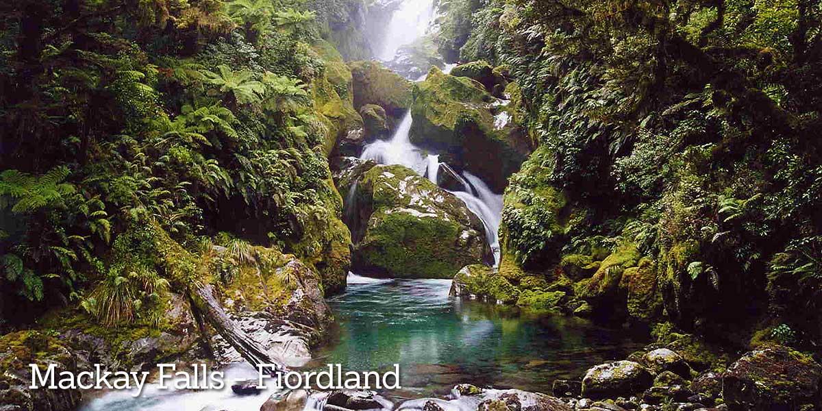 Fiordland Mackay Falls
