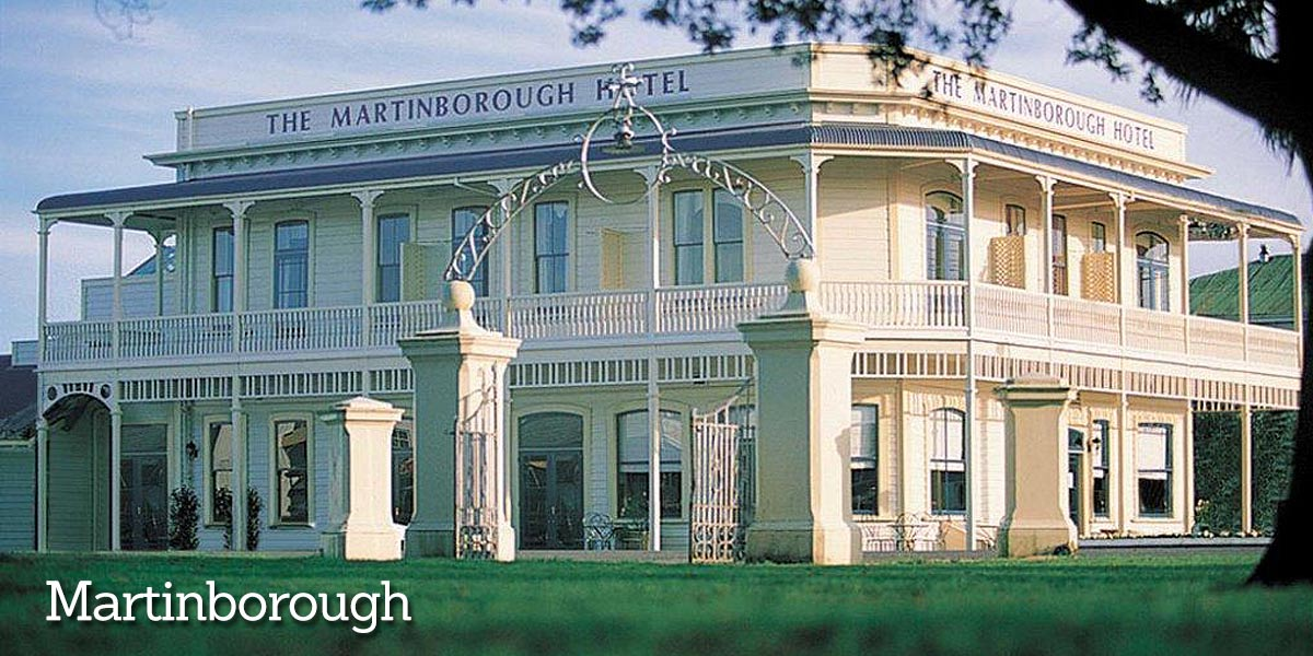 Visit Martinborough Hotel