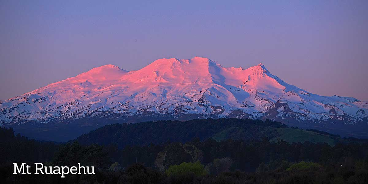 Central Plateau Mt Ruapehu
