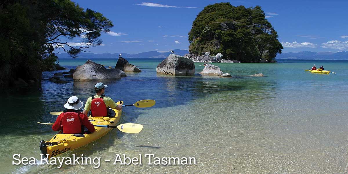 Abel Tasman Experience kayaking