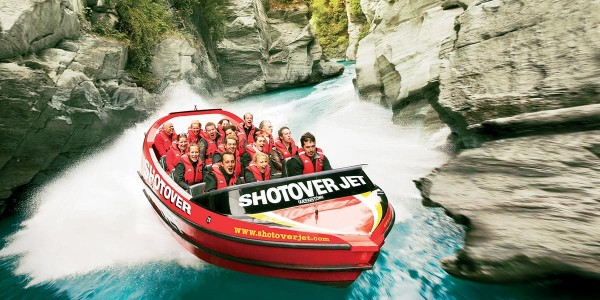Shotover Jet with Friends