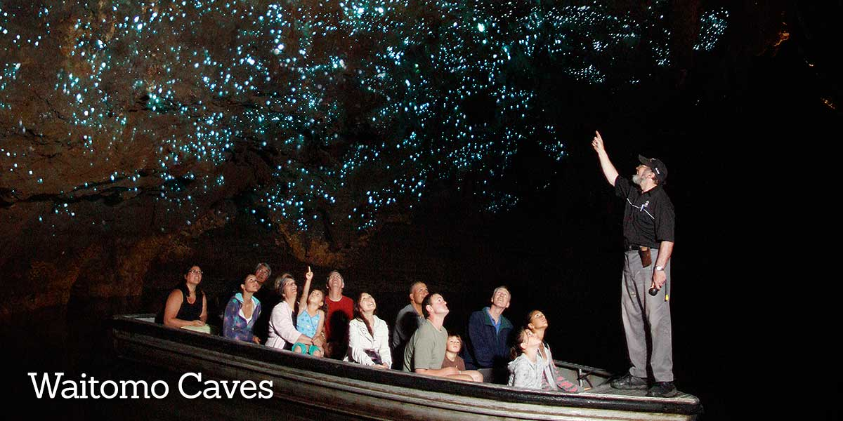 Visit Waitomo Caves
