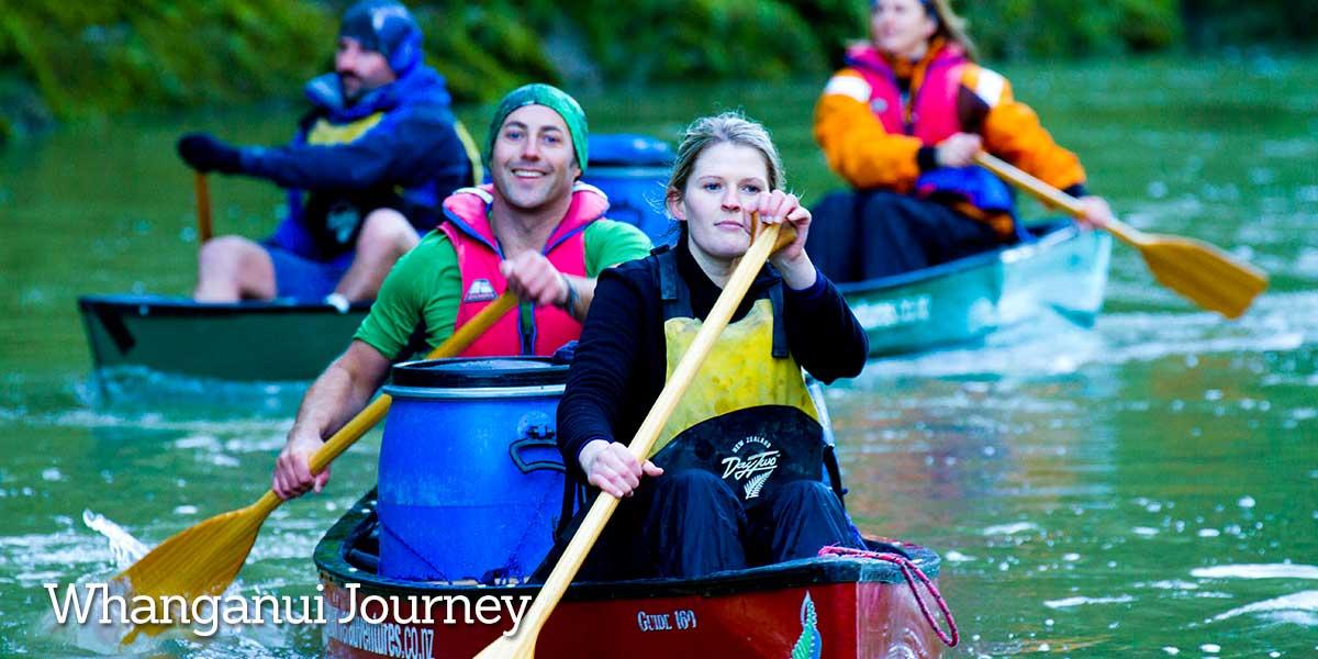 Kayak Whanganui Journey