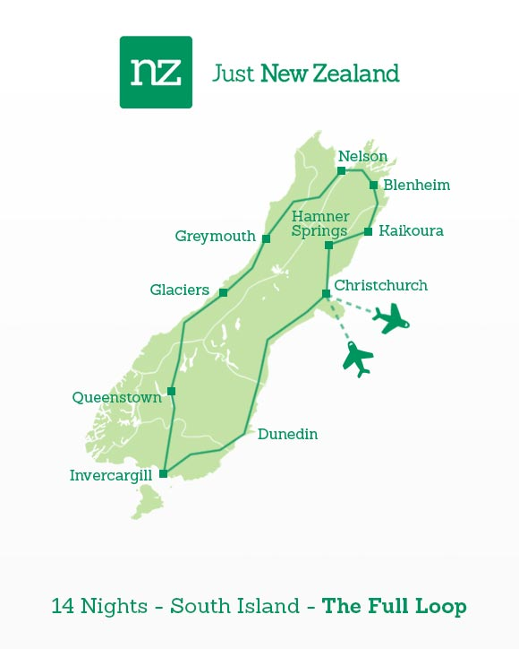 13 Day Highlights of New Zealand Itinerary