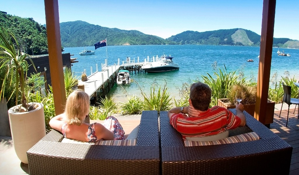 Relax at Bay of Many Coves Resort