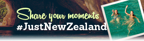 Share your moments #Just New Zealand